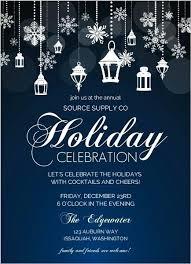 Company Party Invitation Sample Corporate Holiday Office