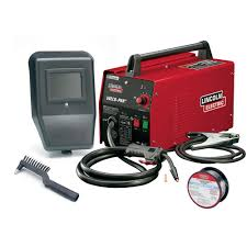 Lincoln Electric 88 Amp Weld Pack Hd Flux Core Wire Feed Welder For Welding Up To 1 8 In Mild Steel 115 Volt