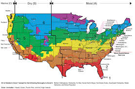 Ashrae Climate Zone Map Iaqsource Com