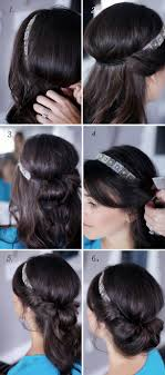 Headband Hair Style pretty simple banded chignon chignon tutorial chignons and kale 4710 by wearticles.com
