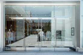 specifying all glass entrance systems courtesy c r laurence