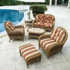 beautiful fl cushions for patio wicker furniture