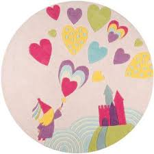 lil mo whimsy princess castle pink 5 ft x 5 ft indoor kids round