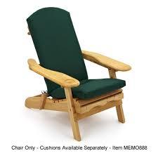 decor tips natural wood adirondack chair with dark