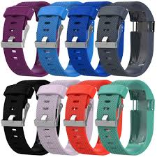 <b>Replacement</b> Silicone Wrist <b>Band Strap</b> for Fitbit Charge HR ...