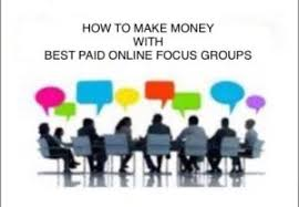 Online Group Top 50 Best Paid Online Focus Groups For Money 2018