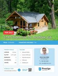 real estate flyer templates 16 free real estate flyer templates open house lucidpress
