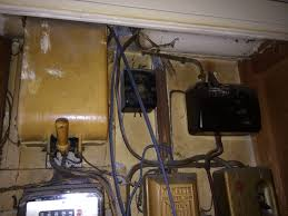 how old do we think this is page 1 homes gardens and diy old round 3 pin sockets no earthing pme not connected and no earth rod wooden light switches ceramic ceiling roses wooden trunking and these bad boys