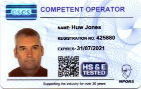 plant categories covered npors covers plant operators across a mulude of sectors and issue construction specific cards bearing the cscs logo