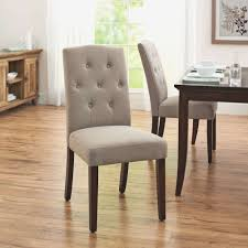 upholstered parsons dining room chairs fresh better homes and gardens parsons tufted dining chair set of