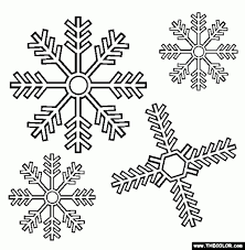 The Stylish Coloring Pages Of Snowflakes intended to Really ...