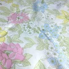 vintage flower sheets shop retro sheets bedding on wanelo