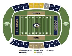 Illinois Seating Chart Football Football Seating Information Uc Davis Athletics