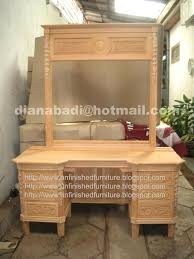 what color is mahogany furniture. What Color Is Mahogany Furniture Unfinished Dressing Table Made Of Fine Solid Kiln Dry .