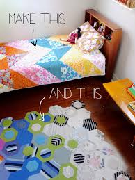 make duvet cover and rug for kids room