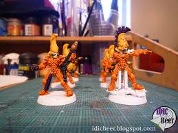 How-To: Painting Eldar Fire Dragons - Spikey Bits