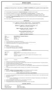 Resume Model For Experience Candidate Best Best Resume Format Mba Finance Experience Sle Resume