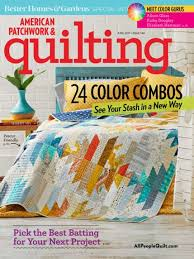American Patchwork & Quilting June 2017 | AllPeopleQuilt.com & June 2017. The June 2017 issue of American Patchwork & Quilting ... Adamdwight.com