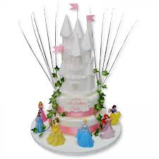 Princess Castle Two Tier Birthday Cakes The Cake Store