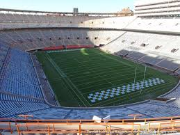 Neyland Stadium View From Upper Level Oo Vivid Seats