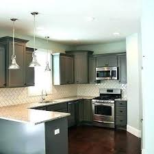 backsplash for gray cabinets kitchen subway tile patterns with white herringbone tiles brown e85 brown