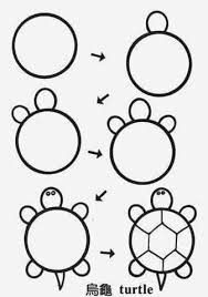 Small Picture Draw turtle circle Pinteres
