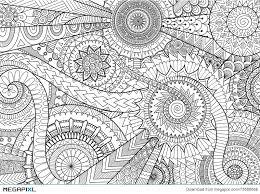 plex mandala movement design for coloring book and background