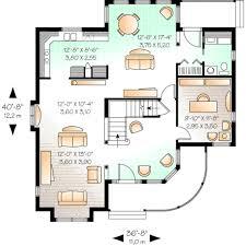 main floor plan 5 800