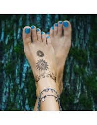 Ozdoby Na Nárt Henna Nalepovací Tetování