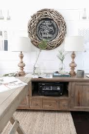pretty office decor. Christmas Home Tour- Holiday Office Decor- Wood Sign- Plum Pretty Decor \u0026