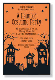 Halloween Invitations Cards Spooky Street Halloween Invitations By Inviting Company