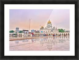 gurudwara sahib picture frame printing