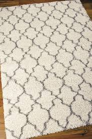 nourison area rug square cream black trellis pattern modern wool rugs brown classic varnished wooden