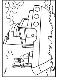 Kleurplaat Sinterklaas Op De Stoomboot Kleurplatennl