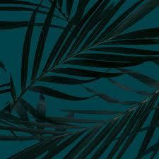 Dark Botany Fan Leaf 2