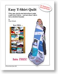 "T-Shirt Quilt Instructions & Easy T-Shirt Quilts. "" Adamdwight.com"