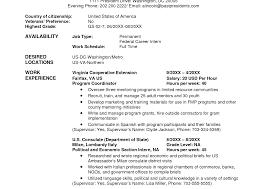 Federal Job Resume Template Examples Of Resumes Usa Resume Template Job Builderside Jobs 23
