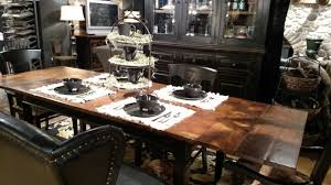 i m in love with the arhaus toulon dining table chairs and bench i love the beautiful acacia wood with the charcoal base lglimitlessdesign