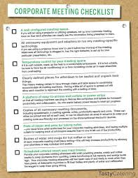 Meeting Planning Checklists Checklist To Help Plan For A Corporate Meeting Planning Working