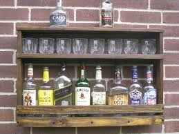 pallet liquor rack. Liquor Cabinet Bar Furniture Pallet Rack