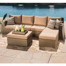 hampton 6 piece seating sectional by sirio