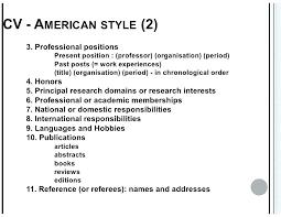 American Style Resume Template American Resume Format Resume Template A Sample Of A Resume North