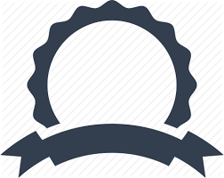 Award, design, label, ribbon, tag, template, warranty icon