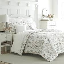 laura ashley ine bedding 3 piece cotton duvet set by home laura ashley ine bedding queen