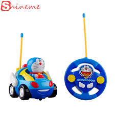 New Baby Boys Girl Doraemon <b>Remote</b> Control Electric Toys Car ...