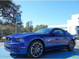 ford mustang 2014 blue. Wonderful Ford Deep Impact Blue Ford Mustang To 2014