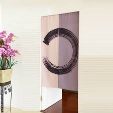 Kxiedhfsd Rattan Vineeinfacher Wind Vorhangdruckenschlafzimmer