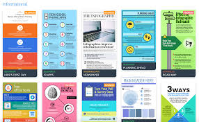 the top infographic template types venngage informational infographic template