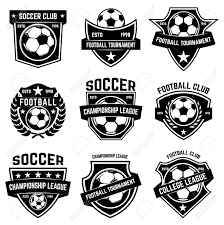 Football Emblem Design Set Of Soccer Football Emblems Design Element For Label Emblem