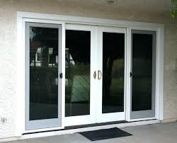 double sliding glass doors home depot 4 panel
